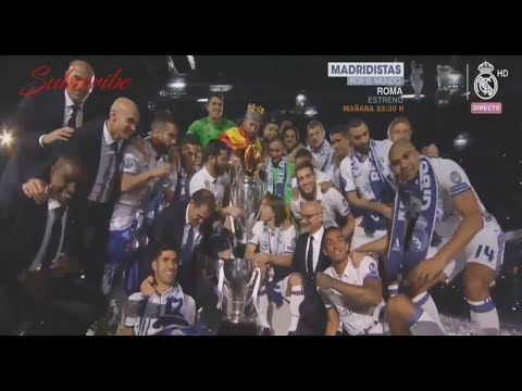 Real Madrid Celebration Live from Santiago Bernabeu - UEFA Champions League Celebrate