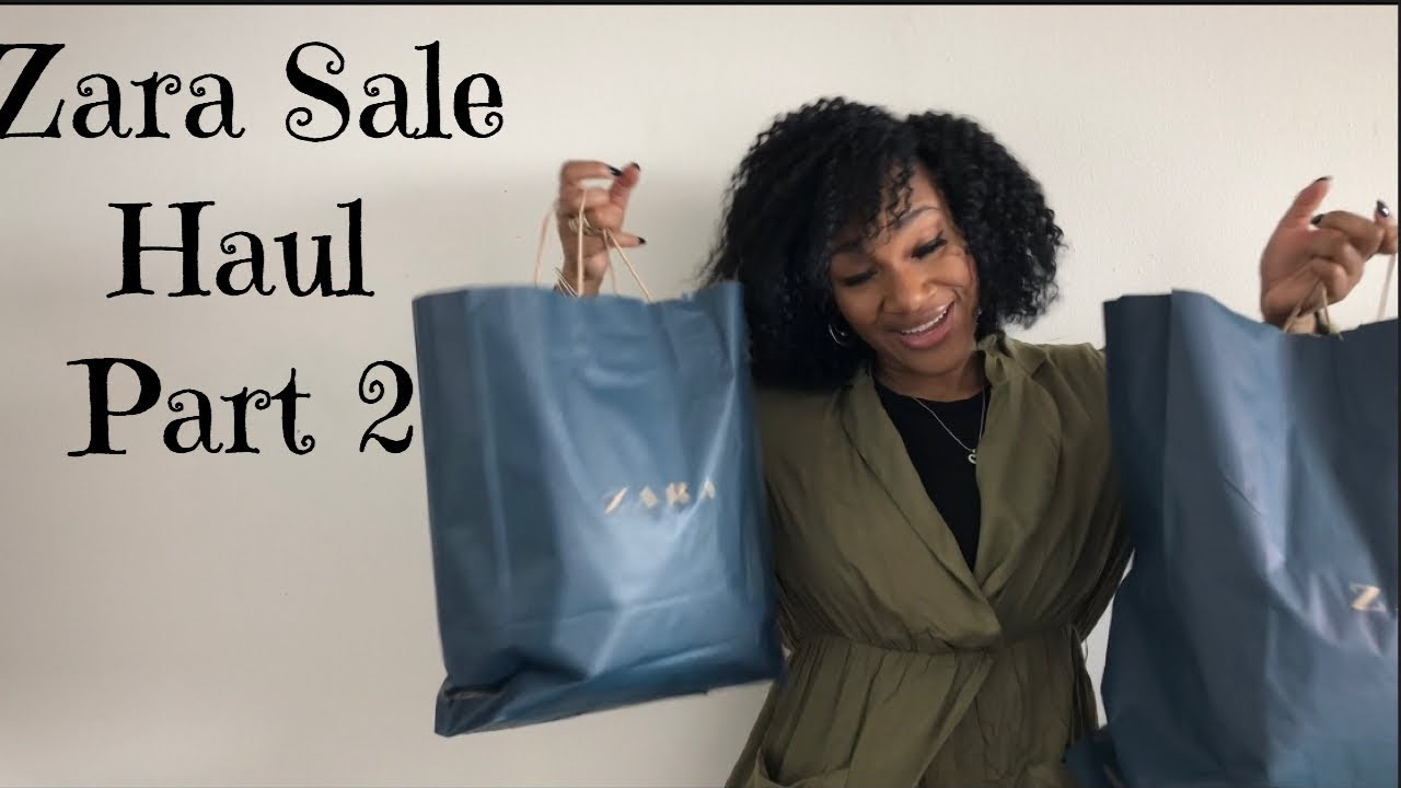 b78b3a6b ZARA SALE HAUL 2019+ TRY ON PART 2| BOUGIE ON A BUDGET EDITION - YouTube