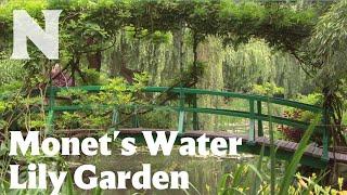 Monet's Water Lily Garden and Japanese Footbridge