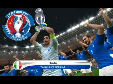 [HD] Euro 2016 | Italia vs Polonia Final #07 PES 2016 FR 1080p60