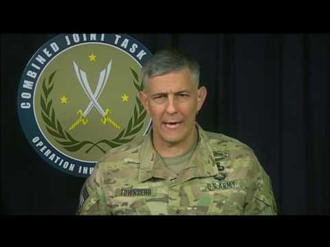 Inherent Resolve Commander Briefs Reporters