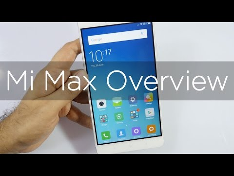 Xiaomi Mi Max with 6.44
