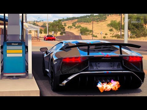Forza Horizon 3 Lamborghini Aventador SV LP 750 4 Gameplay HD 1080p