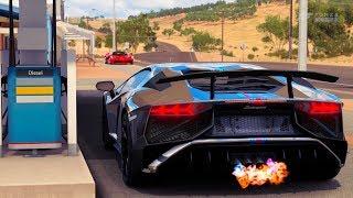 Forza Horizon 3 Lamborghini Aventador SV LP 750-4 Gameplay HD 1080p