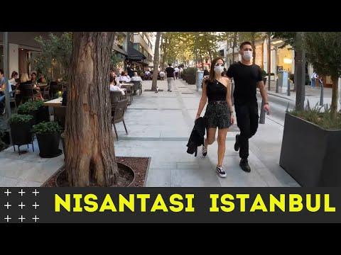 ISTANBUL CITY WALKING TOUR IN 4K-nişantaşı istanbul Ramadan 2021-TURKEY 4K WALKING TOUR-4K UHD 60FPS