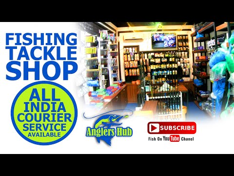 FISHING TACKLE SHOP KERALA .  ANGLERS HUB . FISHING TACKLES . FISHING . Fish On