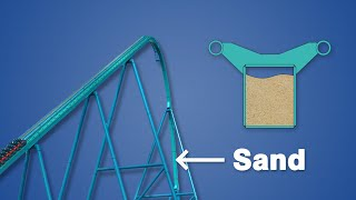 Why Roller Coaster Track is Filled with Sand