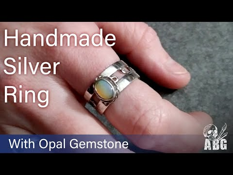Handmade Sterling Silver Ring - Time Lapse
