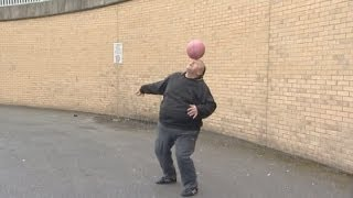 Fat footballer Andrew Cassidy on becoming an internet star after football skills video went viral