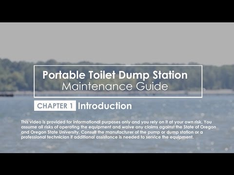 Ch  1: Introduction to Dump Station for Portable Toilets