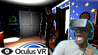 WHY DID I GET BACK ON THIS GAME?? | Boogeyman VR Oculus Rift Horror Game | DK2