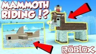 HOW TO RIDE MAMMOTHS, SHARKS AND EVERY ANIMAL IN Roblox Booga Booga! *SUPER Insane*