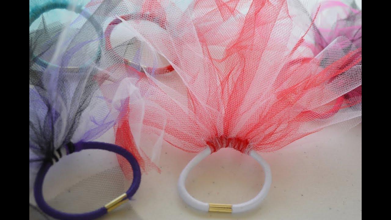 How To Make Hair Ties Easy Craft For Kids Nik Scott