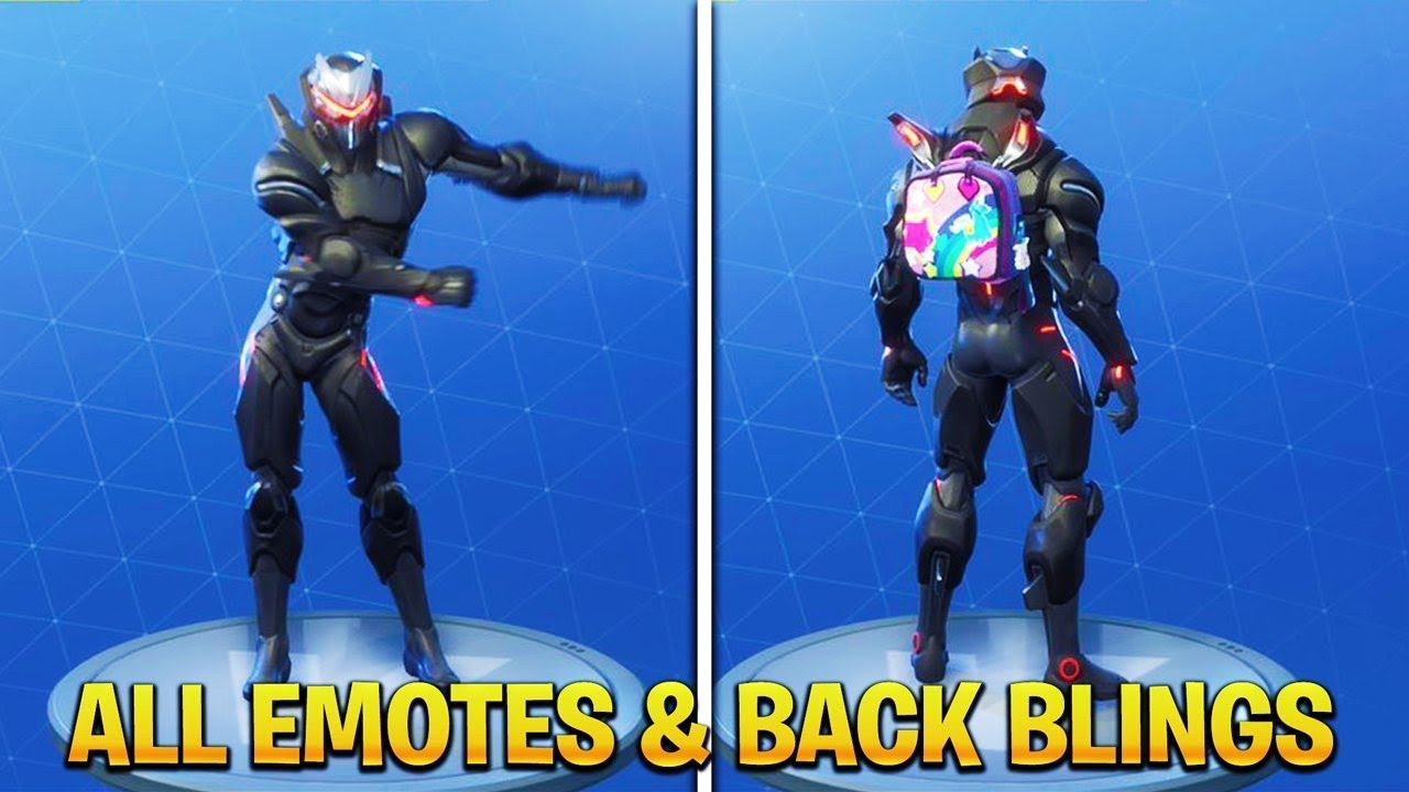 fortnite max omega showcase all back blings emotes fortnite season 4 omega full armor - fortnite omega full armour