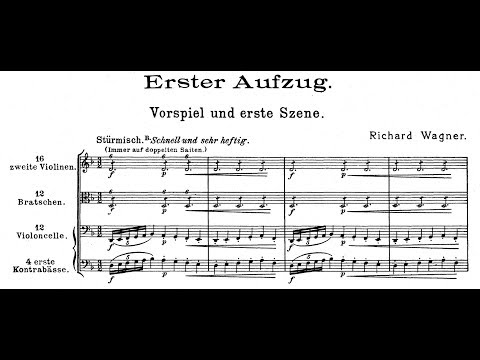 DIE WALKURE by Richard Wagner (Audio + Full Score)