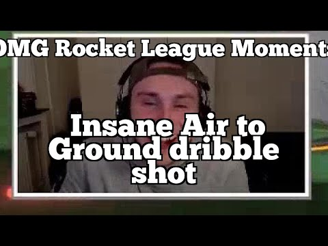 OMG Rocket League Moments: Insane Air to Ground dribble shot thumbnail