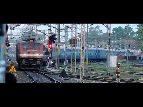 Early Morning Arrival at Bhusawal Junction : Warangaon skip, BSL ELS, Xings and much more