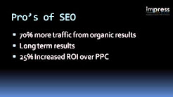 Pros and Cons of SEO