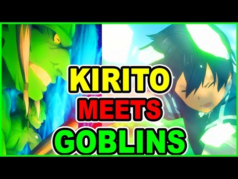 GOBLIN SLAYER ARC? KIRITO VS GOBLIN ARMY! | Sword Art Online Alicization Season 3 Episode 3