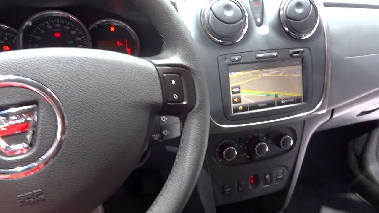 New 2013 Dacia Sandero dashboard and interior HD video - YouTube