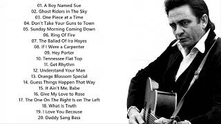 Johnny Cash Greatest Hits - Best Songs Of Johnny Cash
