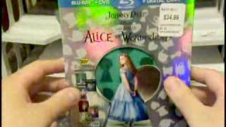 """Alice"" Best Buy Exclusive DVD Blu-Ray Unpack"
