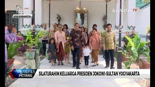 Silaturahim Keluarga Presiden Jokowi-Sultan Yogyakarta