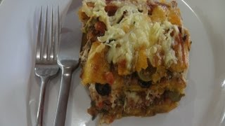 How To Make Pastelon - Plantain And Meat Casserole
