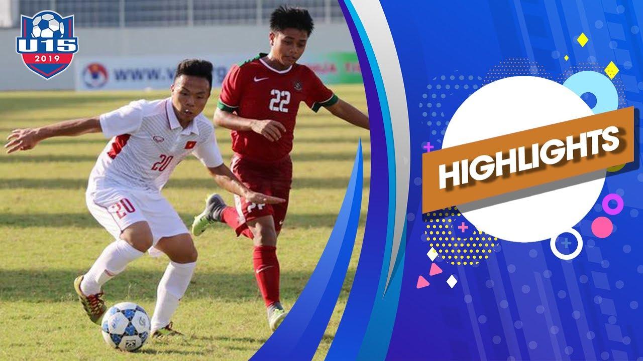 Highlights | U15 Việt Nam – U15 Myanmar | Ngược dòng phút cuối, đợi chờ Hàn Quốc | VFF Channel
