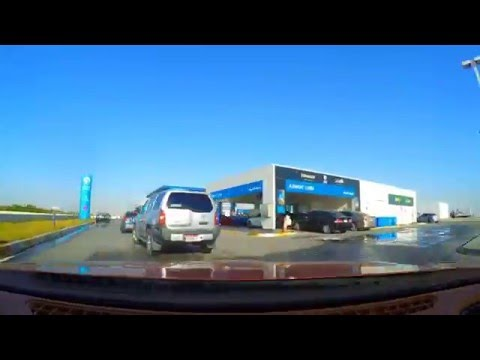 Drive from Abu Dhabi to Dubai (GoPro Hero 4 Time-lapse)