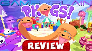 PHOGS! - REVIEW (Double Doggy Puzzle Adventure Game - Switch) (Video Game Video Review)
