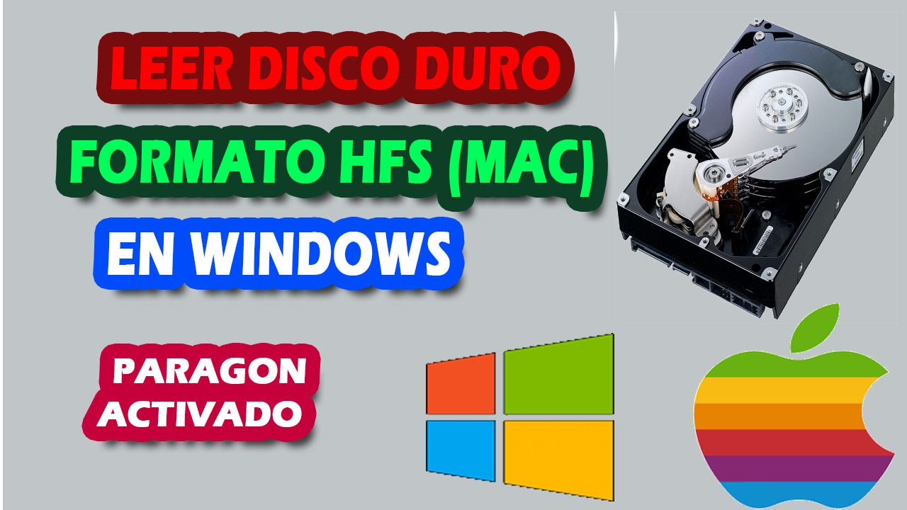 recuperar informacion de disco duro mac en windows