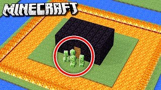 Easiest CREEPER PROOF House in Minecraft!