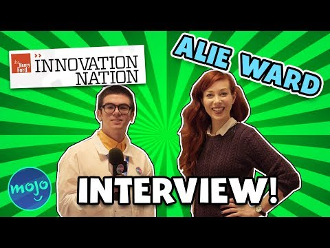 EXCLUSIVE  with INNOVATION NATION'S ALIE WARD