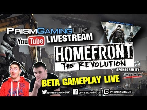 Homefront The Revolution Beta Gameplay LIVE Playthrough DannyPGUK and SkinPGUK