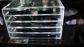 Muji Acrylic Case 5 Drawer And 3 Drawer
