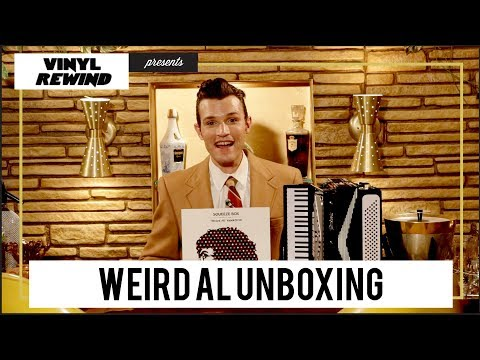 unboxing Weird Al's Squeeze Box - The Complete Works