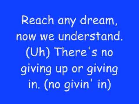 Step Up Lyrics by The Cheetah Girls