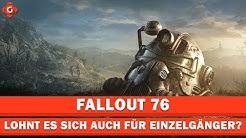Fallout 76: Lohnt es sich auch für Einzelgänger? | Special