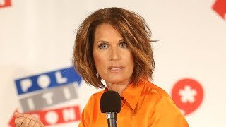 Creepy Michele Bachmann & Televangelists Praise God For GOP Platform