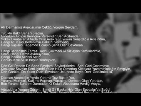 RAMAZAN GÜLER SEVDA YARASİ (ŞİİR)  (mükemmell)