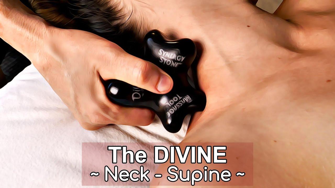Divine NECK Supine Synergy Hot Stone Massage 7 17
