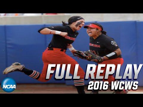 Georgia Vs. Florida State: 2016 Women's College World Series | FULL REPLAY