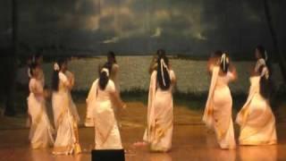 "KCS Onam Mela 09 - ""Thiruvathira - Kummi veera virada "" Onam group dance"