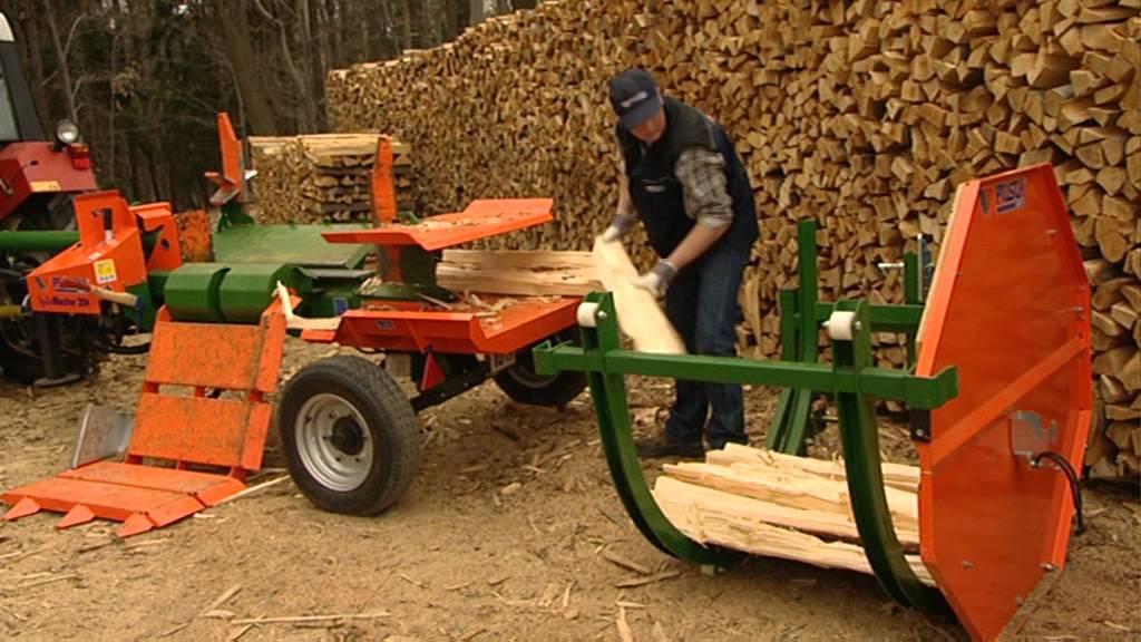 Holzspalter Liegend Der Splitmaster 20 Mit Easy Spaltmesser Posch