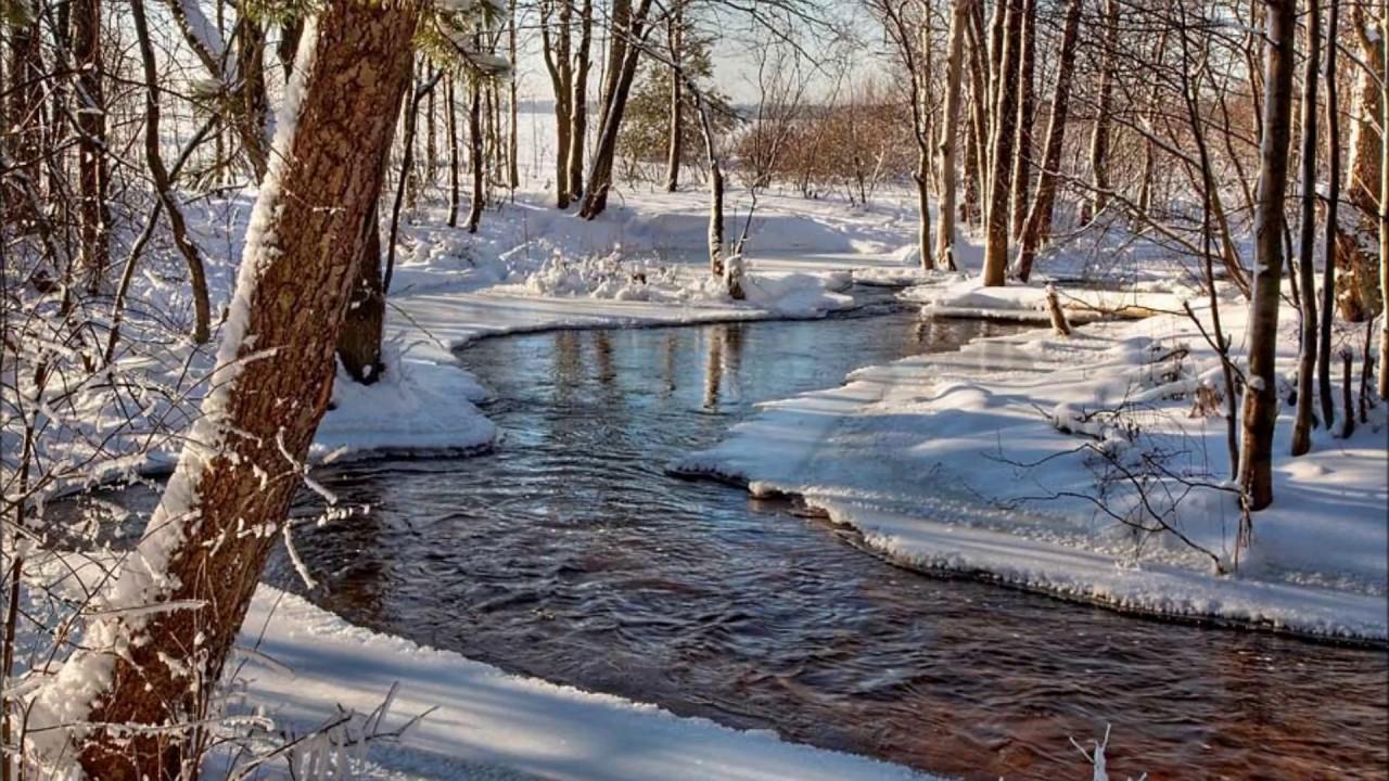 фото весенний снег гиф сторона мата