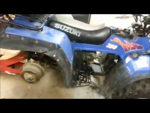 Suzuki Clutch Adjust