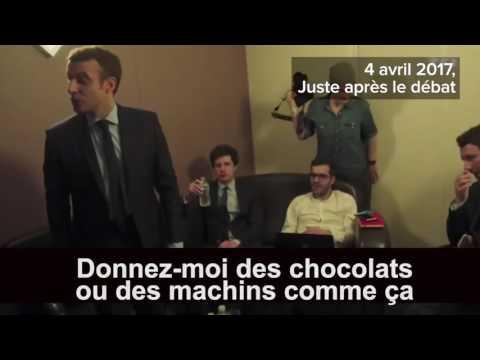 Emmanuel Macron : OM , Chocolat, Cordon Bleu