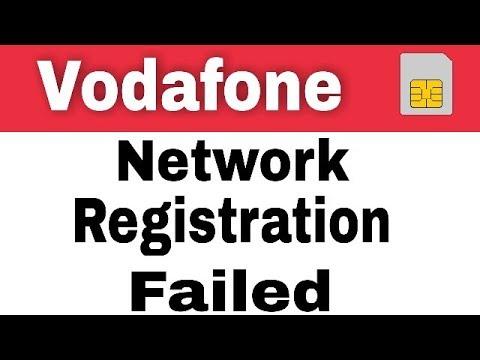 How To Fix Vodafone Sim Registration Failed Solution