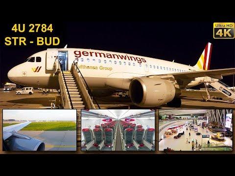 TRIP REPORT | Germanwings | STUTTGART - BUDAPEST | Airbus A319
